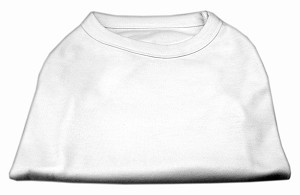 Plain Shirts White 6X (26)